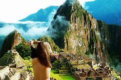 Не делайте оголенное фото на фоне святыни Инков