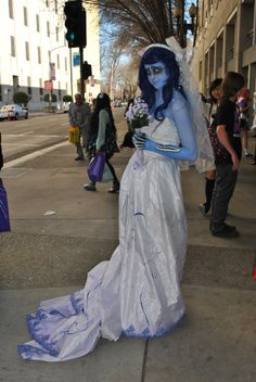 SacAnime Takes Over Downtown - capradio.org Beautiful Corpes Bride cosplay