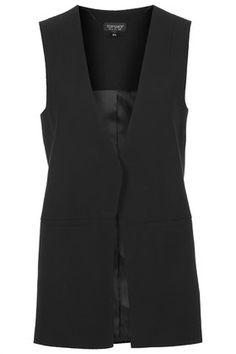 ::Sleeveless Tailored Jacket::