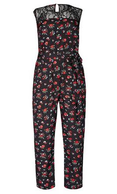 City Chic Daisy Love Jumpsuit - City Chic Your Leading Plus Size Fashion Destination #citychic #citychiconline #newarrivals #plussize #plusfashion