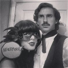 """""""Poe and the Raven"""" Literary Halloween Costumes   POPSUGAR Love & Sex"""