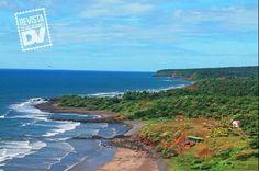 Playa las Flores ,escondida entre San Miguel y Usulután,El Salvador