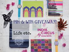 New giveaway with @IndiaCircus is on Magali's blog!