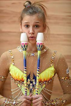 Aleksandra SOLDATOVA (RUS) Clubs Training