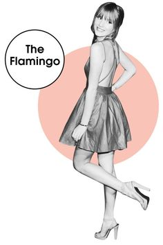 The Flamingo, one of 12 skinny leg poses celebs use in photos. Find out the rest and how to do each.