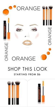 """""""Orange"""" by feminstqueen ❤ liked on Polyvore featuring beauty and Topshop"""