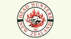 Head Hunters MC (Motorcycle Club) – One Percenter Bikers – Speed Team Westlake Girls, 45 Caliber Pistol, Head Hunter, Biker Quotes, Motorcycle Clubs, Hunters, New Zealand, Bikers, Tactical Knives