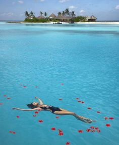 Crystal Clear Water at Tropical Beach – Maldives