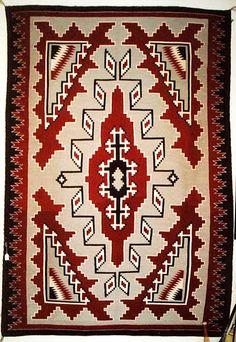 Ganada region design navajo rug