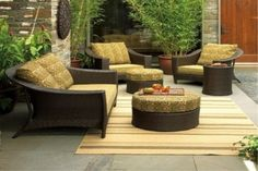Modern patio furniture: Patio furniture sets