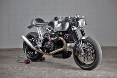 The Revenge - Moto Guzzi V11 Cafe Racer ~ via returnofthecaferacers.com