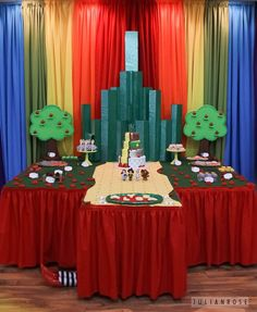 Main Table from a Wizard of Oz Birthday Party via Kara's Party Ideas | KarasPartyIdeas.com (58)