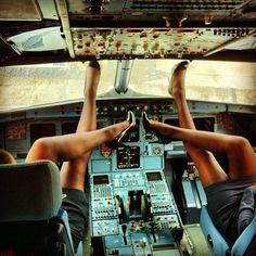 Air hostesses Legs in the cockpit Nylon Dreams: April 2013