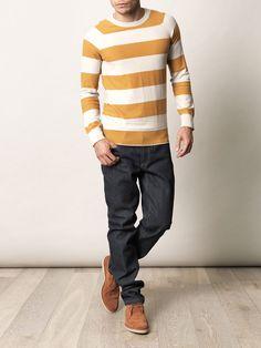 Burberry Brit; Striped sweater.
