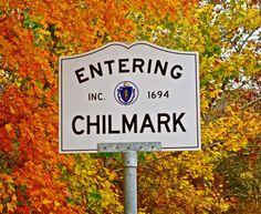 Chilmark Sign - Autumn