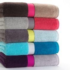 colorblock towels