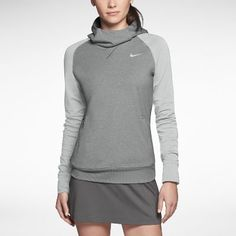 Nike Sport Women's Golf Hoodie.... sweet for fall golf. Did I just say fall?