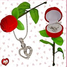 Get 32% OFF ON Sweet Heart Pendant. Pamper your beloved by gifting her this wonderful pendant crafted in heart shape covered with one sided diamonds along with chain in a very pretty rose shaped pendant holder.