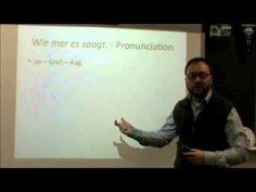 PA Dutch 101: Video 4 - The Alphabet and Pronunciation.m4v