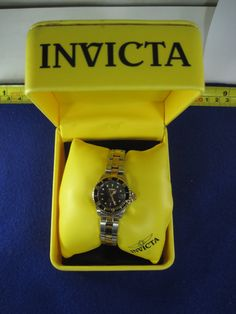 Invicta 8941 Women's Pro Diver Two-Tone Stainless Steel Bracelet Watch    2-19-16    IN ALL OF OUR AUCTIONS, WE INCLUDE A PICTURE OF THE JEWELRY NEXT TO A DIME TO SHOW YOU THE SIZE TO SCALE; (The dime is not included in the auction).      THIS IS AN ABSOLUTELY GORGEOUS PIECE OF JEWELRY, AND WOULD LOOK GREAT ON YOU OR SOMEONE YOU KNOW. WE DON'T POST ANYTHING ON OUR ETSY SHOP THAT IS LOW QUALITY. EVERYTHING WE POST IS HIGH QUALITY VINTAGE ESTATE JEWELRY.     Most of our sterling silver items…