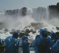 American Falls from the Maid of the Mist, Niagra Falls, New York