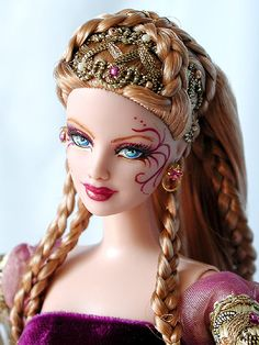 Fantasy queen!!! Tonner Barbie OOAK doll. ♥◔◡◔ ◉◡◉ ~_~