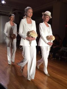 Bridal pant suit #AngeloAccess
