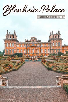Blenheim Palace is only under an hour away from London by car or under two hours by public transportation. It is one of England's UNESCO World Heritage Site with over 300 years of history. It's so beautiful that it's a famous movie location in England where some of the popular films and tv series that we all know and love were filmed. #blenheimpalace #daytripsfromlondon Cool Places To Visit, Places To Travel, Travel Destinations, Day Trips From London, Blenheim Palace, Famous Movies, Europe Travel Guide, Ireland Travel, London Travel