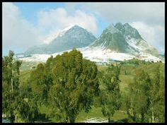 L'Ouarsenis (arabe: الونشريس El'Ouanchariss, bérbere Warsnis ) signifie « rien de plus haut » en bérbere, est un massif de montagnes du nord-ouest de l'Algérie.il culmine au pic Sidi Amar (1 985 m) près de Bordj Bou Naama dans la wilaya de Tissemsilt à 67 km au nord de tissemsilt.