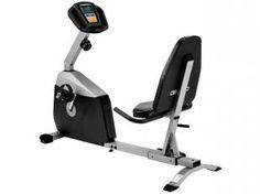 Bicicleta Ergométrica Magnética Horizontal Johnson - R108 c/ Monitor Cardíaco e 15 Níveis de Esforço