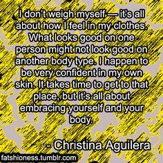 christina aguilera quotes | Tumblr