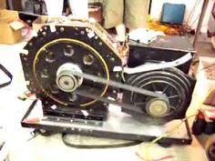 Motor Magnético girando a 2500 rpm sin necesidad de refrigeración - YouTube