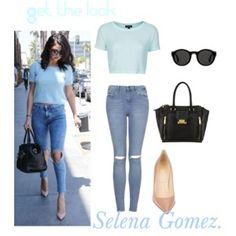 Selena Gomez. Get the look.