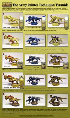 The Army Painter: Tyranid Colour Schemes
