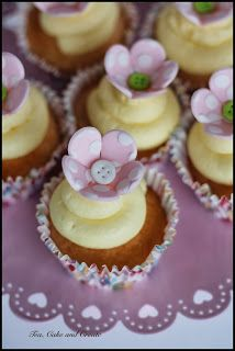 Tea, Cake & Create: Spotty Dotty Flower Tutorial
