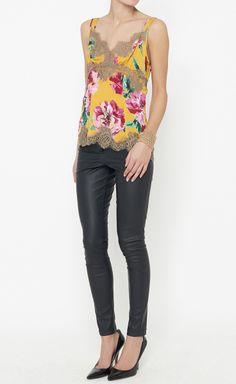 Dolce & Gabbana Yellow, Pink And Green Top | VAUNTE