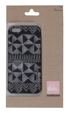 Quiksilver Sketchy Squares iPhone Case