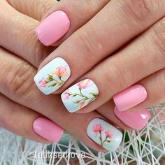 you should stay updated with latest nail art designs nail colors acrylic nails Flower Nail Designs, Nail Designs Spring, Nail Art Designs, Design Art, Design Ideas, Floral Nail Art, Pink Nail Art, Gold Nail, Light Pink Nails