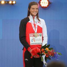 Leichtathletik-EM Amsterdam 2016 Lea Sprunger gewinnt über 400m Hürden Bronze !! 10-Juli-2016