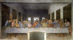 10 Things You Might Not Know About 'The Last Supper': The Last supper, by Leonardo da Vinci (1452-1519)