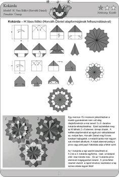 Origami Cards, Origami And Kirigami, Origami Easy, Modular Origami, Origami Folding, Paper Folding, Origami Instructions, Origami Tutorial, Ninja Star Origami
