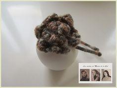 """Felpas con lana e hilo de colores En homenaje a nuestra """"Justa"""", os enseñamos algunos de sus trabajos, en los cuales era una autentica especialista ,realizando la técnica del ganchillo en hilo y lana."""