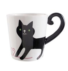 Cat Mug Tail Handle for Cat Lovers