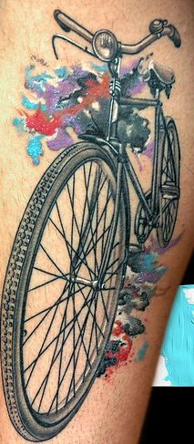 Cycling tattoo