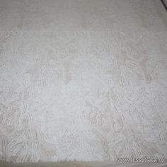 Плательная (н) белые паетки на белой сетке - интернет магазин тканей Тессутидея