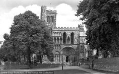 Photo of Dunstable, Priory Church 1958 from Francis Frith Notre Dame, Memories, Building, Nature, Travel, Memoirs, Souvenirs, Naturaleza, Viajes