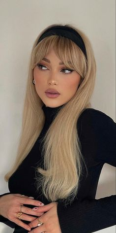 Hair Inspo, Hair Inspiration, Blonde High, Light Blonde Hair, New Hair Colors, Hair Looks, Easy Hairstyles, Hair Makeup, Hair Cuts