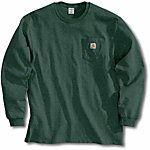 Carhartt® Men's Long Sleeve Workwear Pocket T-Shirt