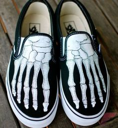 Custom painted vans shoes 68