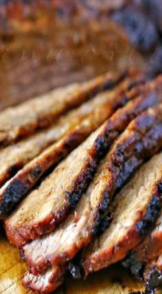 Barbecue Tri Tip Roast bestbeefrecipes Best Beef Recipes, Pot Roast Recipes, Rib Recipes, Grilling Recipes, Cooking Recipes, Favorite Recipes, Smoker Recipes, Recipies, Elegant Appetizers